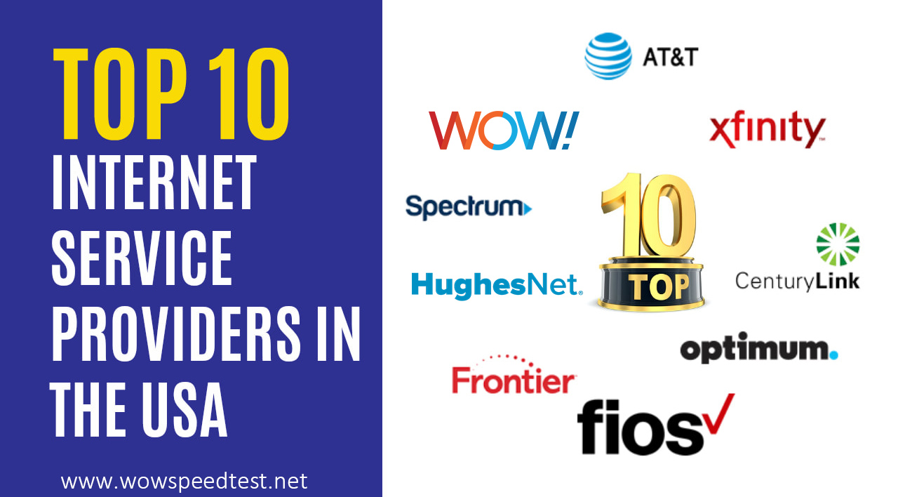Top internet Service providers in the United States
